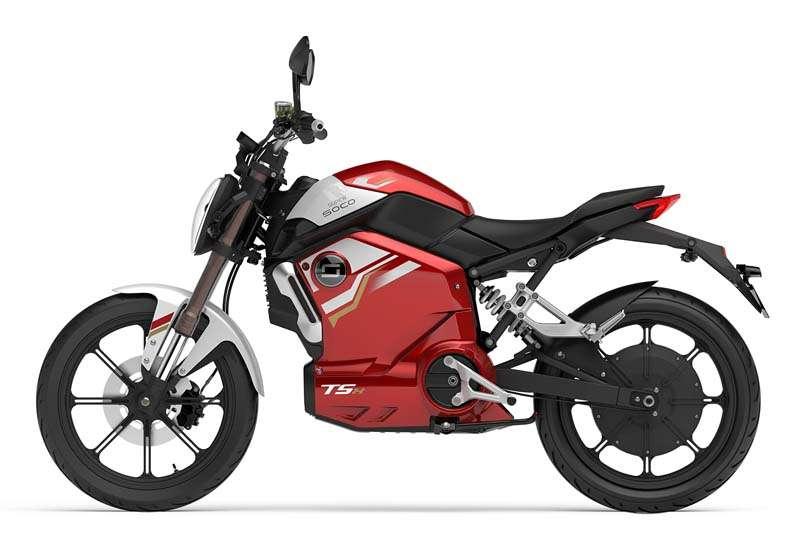 elektricen moped supersoco TSX - rdec