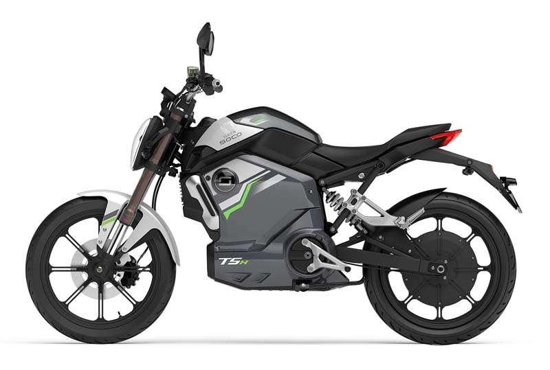 elektricen moped supersoco TSX - zelen