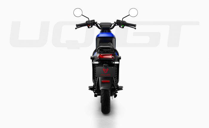 elektricni moped NIU UQi GT, moder - zadaj