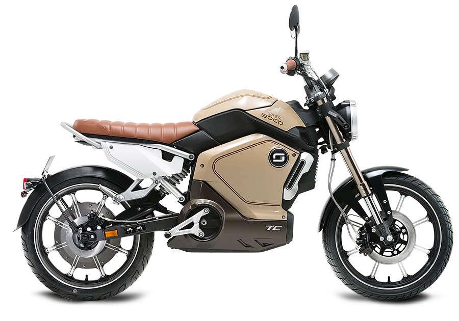 elektricni skuter TC - beige