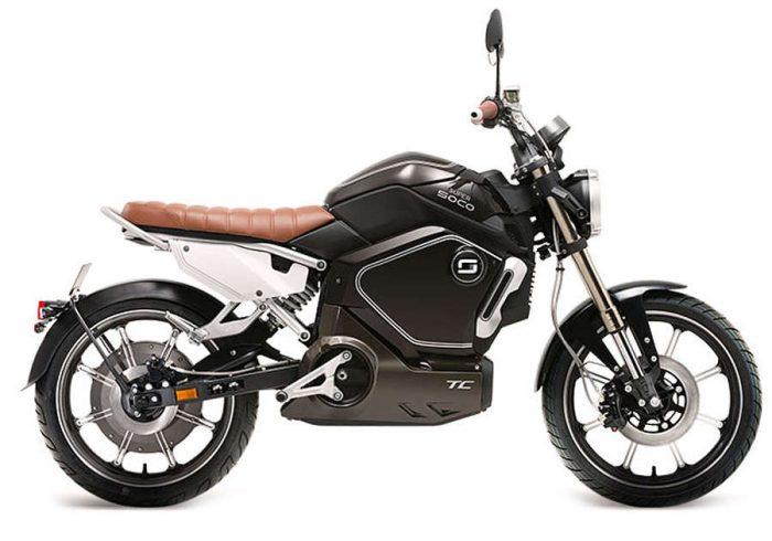elektricni skuter TC - crn