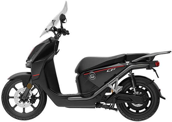 e-skuter cpx - črn