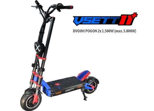 električni skiro VSETT 11+