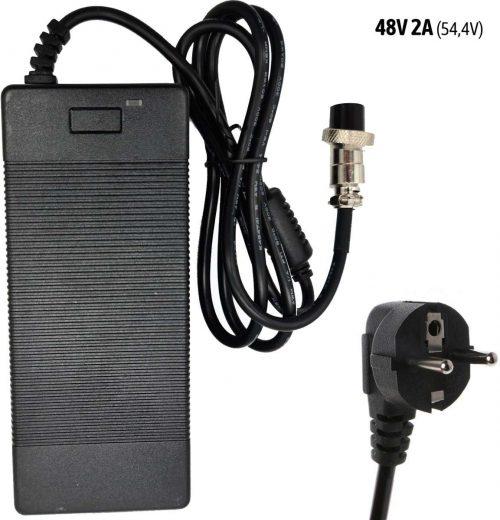 Polnilec za električni skiro 48V