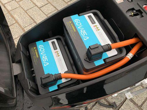 supersoco CPX li-ion baterija