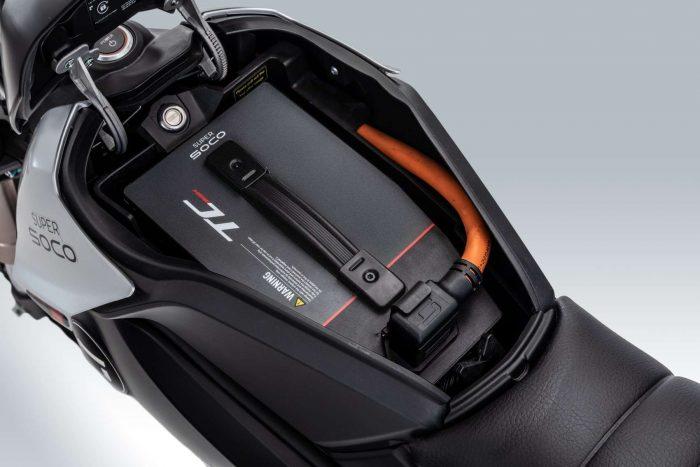 supersoco TC Max - baterija