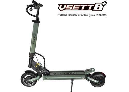 električni skiro VSETT 8+